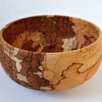 Spalted Beech Large Bowl