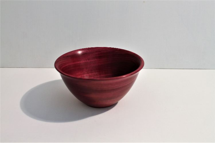 160916 Purpleheart bowl