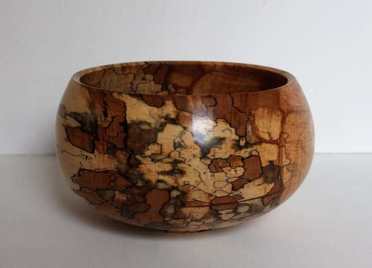 161008 Spalted Beech Bowl sold