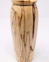 171007 Spalted Beech vase SOLD