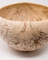 180204 Spalted Beech Bowl Sold
