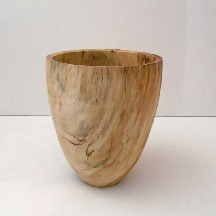 200130 Spalted Horse Chestnut Vase