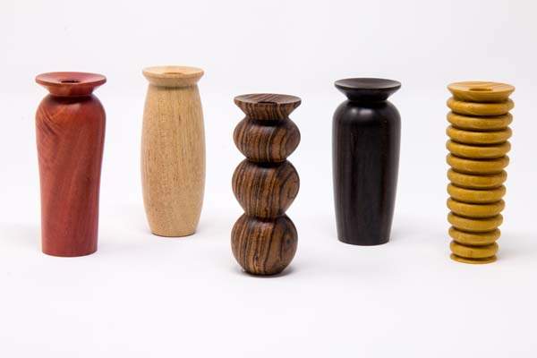 Selection of Bud vases 1