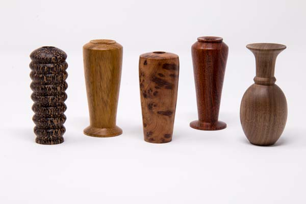 Selection of bud vases 2