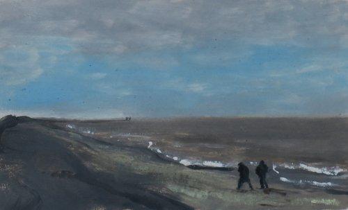 walking Dunwich Beach,