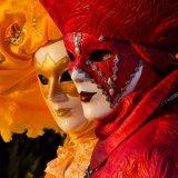 Carnevale di Venezia -Rosso e Giallo