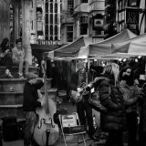 Winter Market Busking