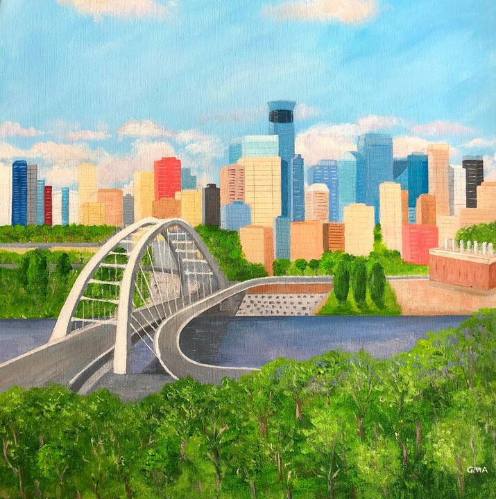 Edmonton Skyline Alberta