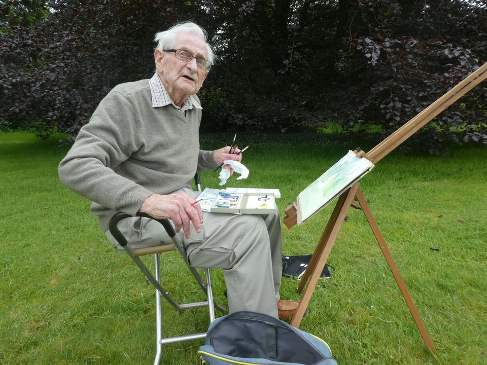 John Tydeman, Outdoor Painting Co-ordinator