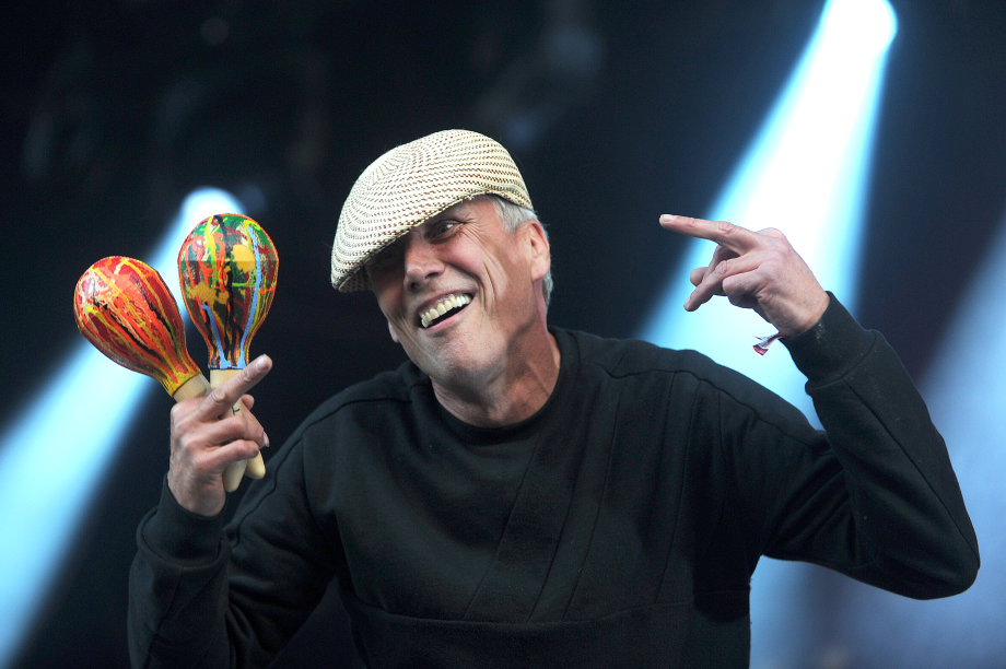KENDAL CALLING 2017  On the main stage Happy Mondays,
