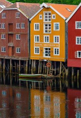 Merchant Houses Trondheim 1