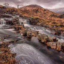 Loch Dochard Waterfall
