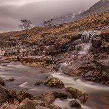 Glen Etive Waterfall