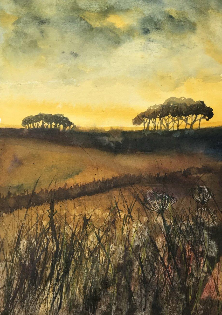 Landscape at Dusk SOLD