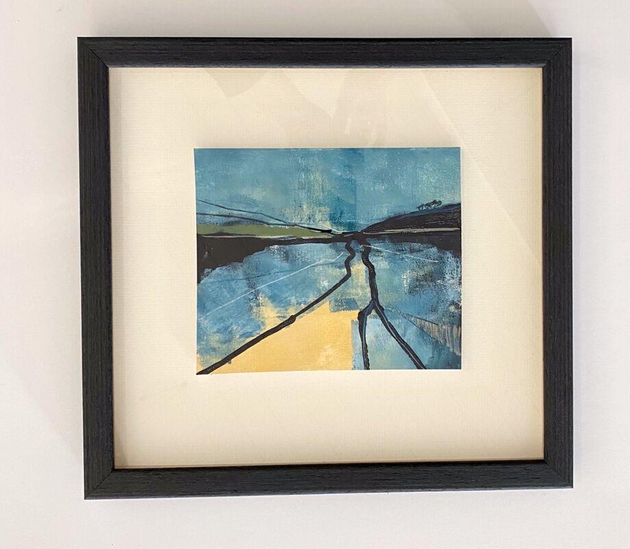 Paysage framed