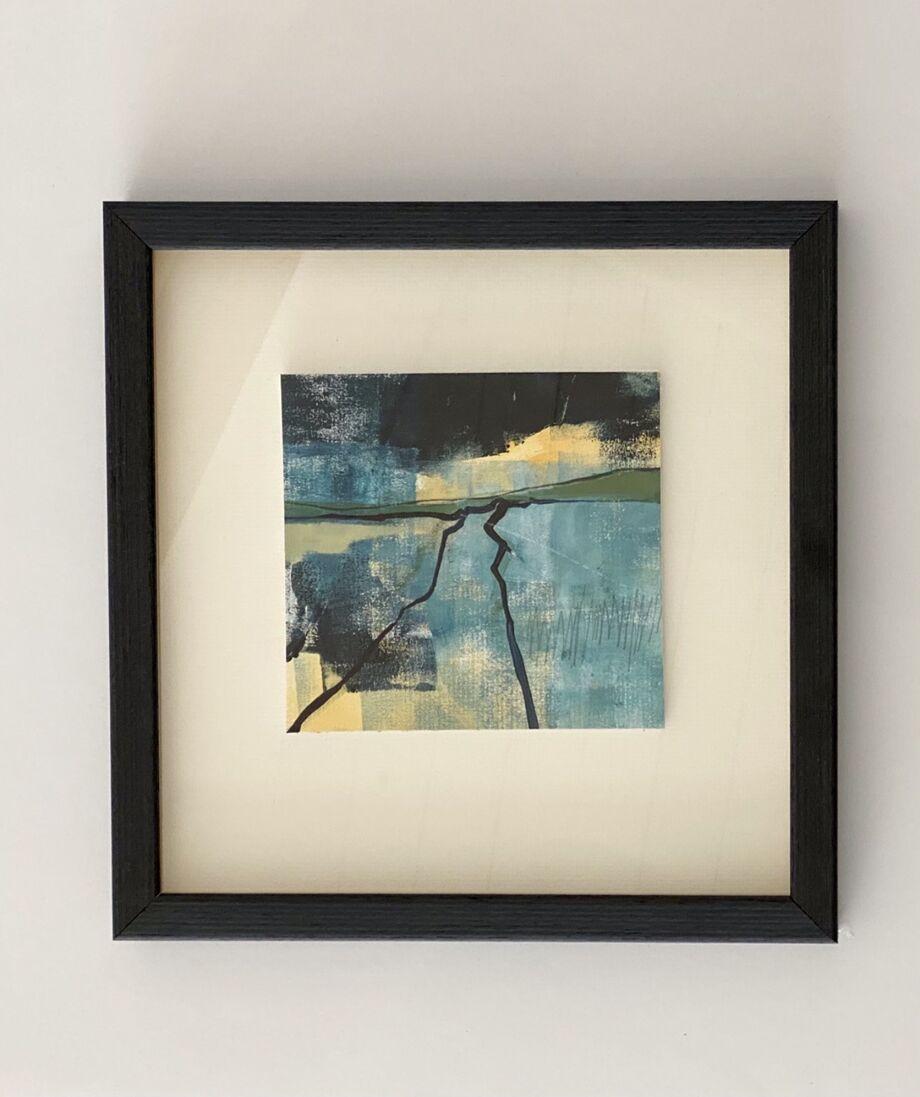 Storm brewing framed