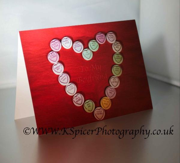 To My Boyfriend Valentine Card