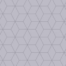 Vista Splashback - Blocked Hex Dove - Matt finish MDF - Reverse of Honeycombe