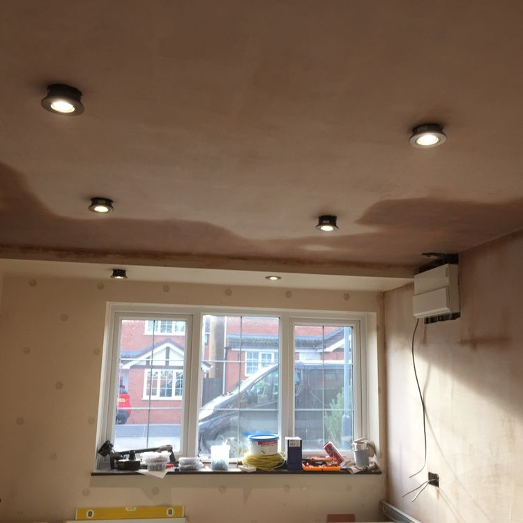 Garage conversion by kitchens insynk ltd solihull