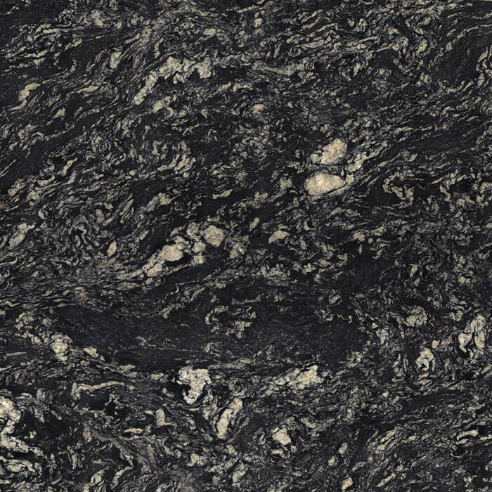sensa indian black granite 30mm polished finish at kitchens insynk ltd