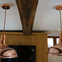 copper lighting by kitchens insynk ltd solihull