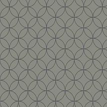 Vista Splashback - Roulette Curves Taupe - Matt finish MDF - Reverse of Blocked Hex Midnight