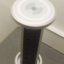 Motorised Pop Up Module with QI Charging
