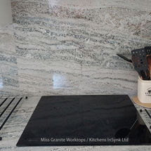 crystal blue splashback granite miss granite worktops