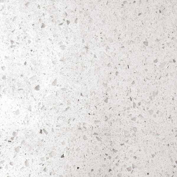 Vulcanstone white mirror quartz polished finish from kitchens insynk ltd solihull