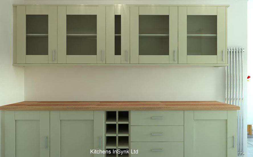 alabaster shaker style door kitchens insynk ltd