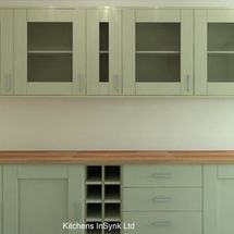 alabaster shaker style door kitchens insynk ltd