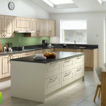 Willow Green Toughened Glass Splashback