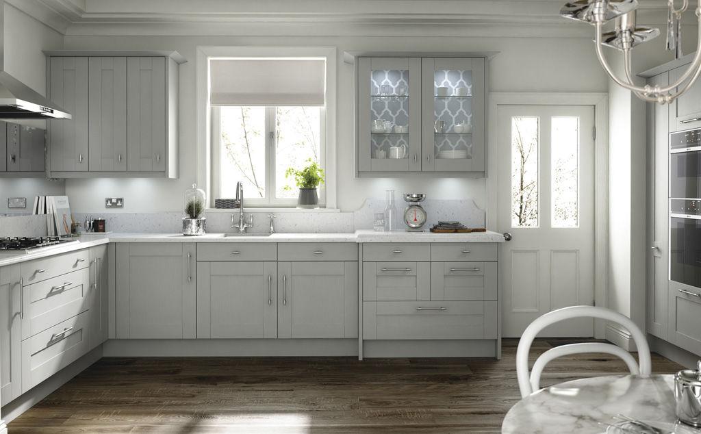 Broadoak partridge grey doors kitchens insynk ltd solihull