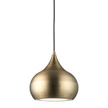 brosnan led pendant light - antique brass - SY61299