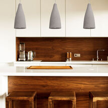 Concreto SY7812GW/6500K pendant light by sycamore led lighting