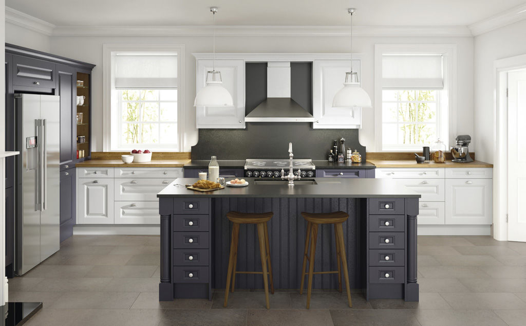Cornell charcoal & chalk kitchen doors by kitchens insynk ltd solihull