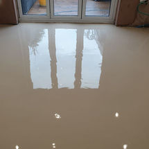Levelled Floor in preparation for Ambiance Luxury Vinyl Flooring by kitchens Insynk ltd