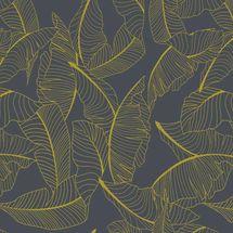 Vista Splashback - Golden Grove - Matt finish MDF - Reverse side of Summer Palm