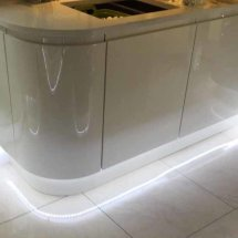LED lighting fitted by Kitchens InSynk Ltd