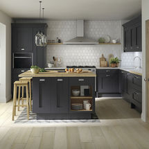 milbourne charcoal kitchen doors kitchens insynk ltd solihull