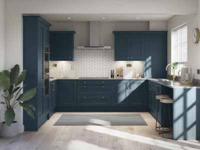 Mornington Shaker in Hartforth Blue