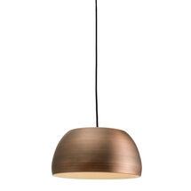 palla e27 pendant light bronze sy64567 from sycamore led lighting
