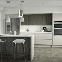 porter cashmere and graphite doors kitchens insynk ltd