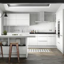 Porter white gloss finish doors from kitchens insynk ltd