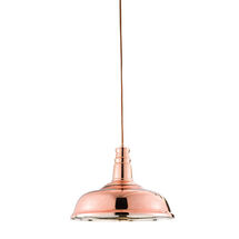 rosa E27 Copper Pendant Light sy61705 sycamore led lighting