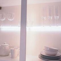 sirius clip on led glass shelf light - 450mm - sy8941