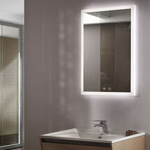 Tunable LED Mirror with Demister sy9007 - kitchens insynk ltd barnacle