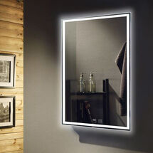 sy9008 Tunable LED Mirror with Demister for bathroom kitchens insynk ltd