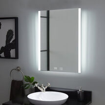 Tunable LED Mirror with Bluetooth Speaker & Demister sy9016/speaker