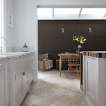 1909 truffle ovola door at kitchens inynk ltd solihull